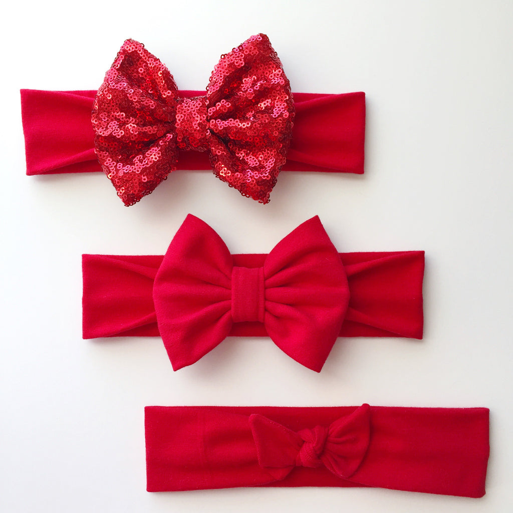 Red Headbands