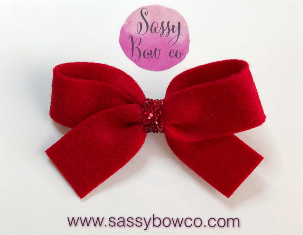 Red Anniston Bow
