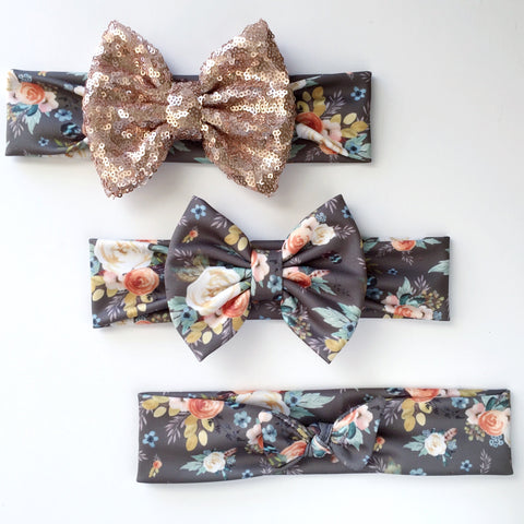 Western Autumn Floral Headbands
