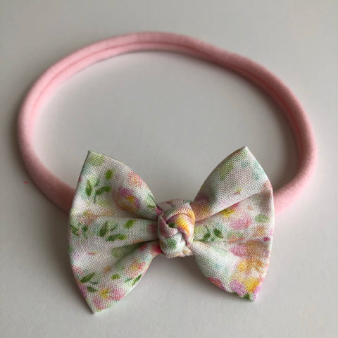 "Spring Floral 2"" Chloe bow"