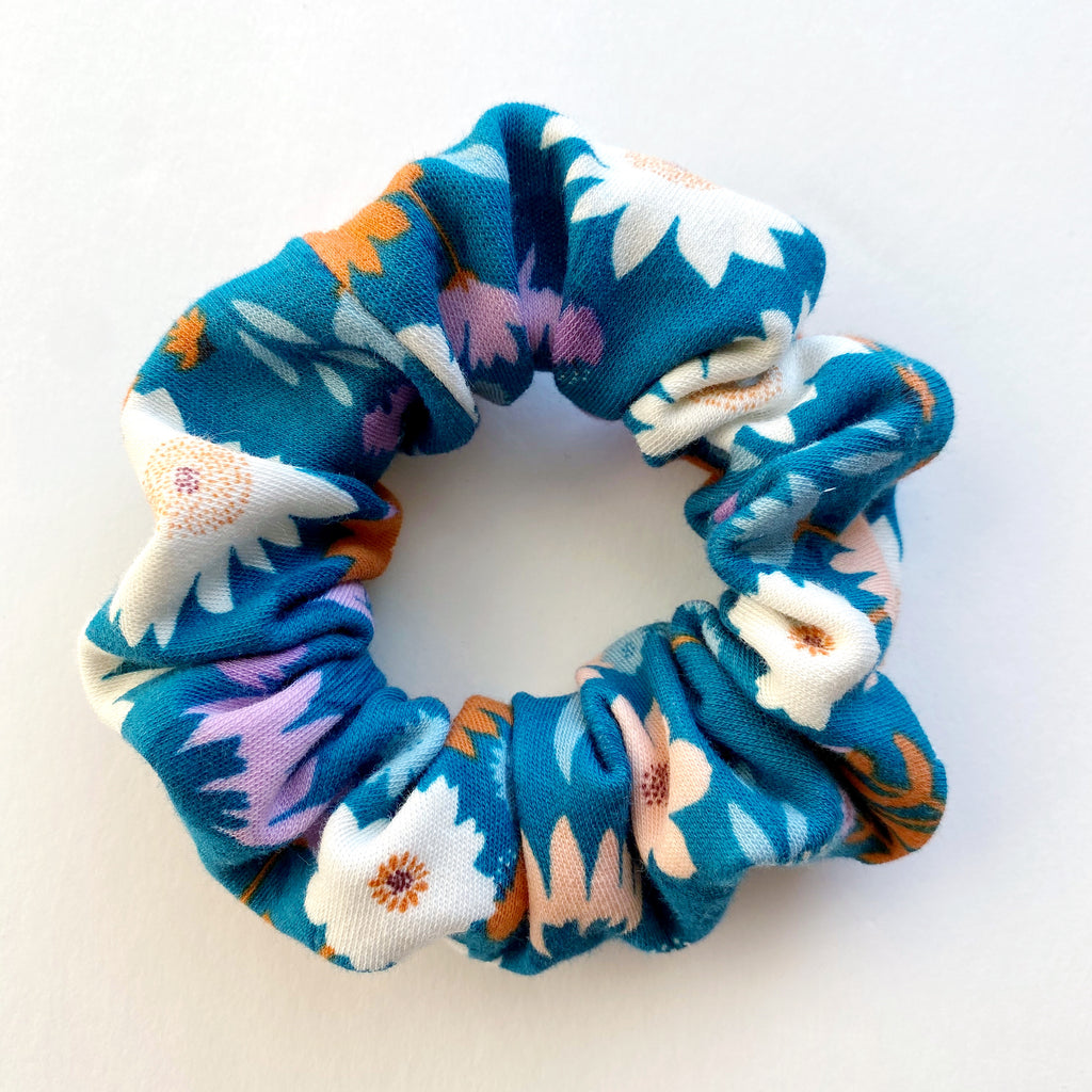Fall Floral Scrunchie