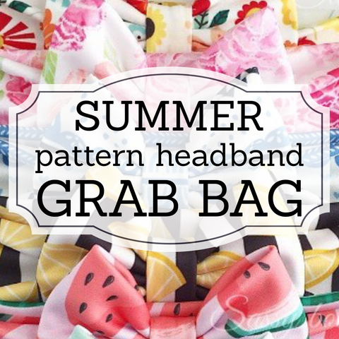 *SUMMER* Grab Bag Pattern Headbands