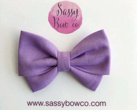 Wisteria Madi Cotton Bow