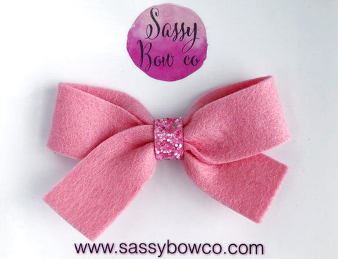 Bubblegum Pink Anniston Bow