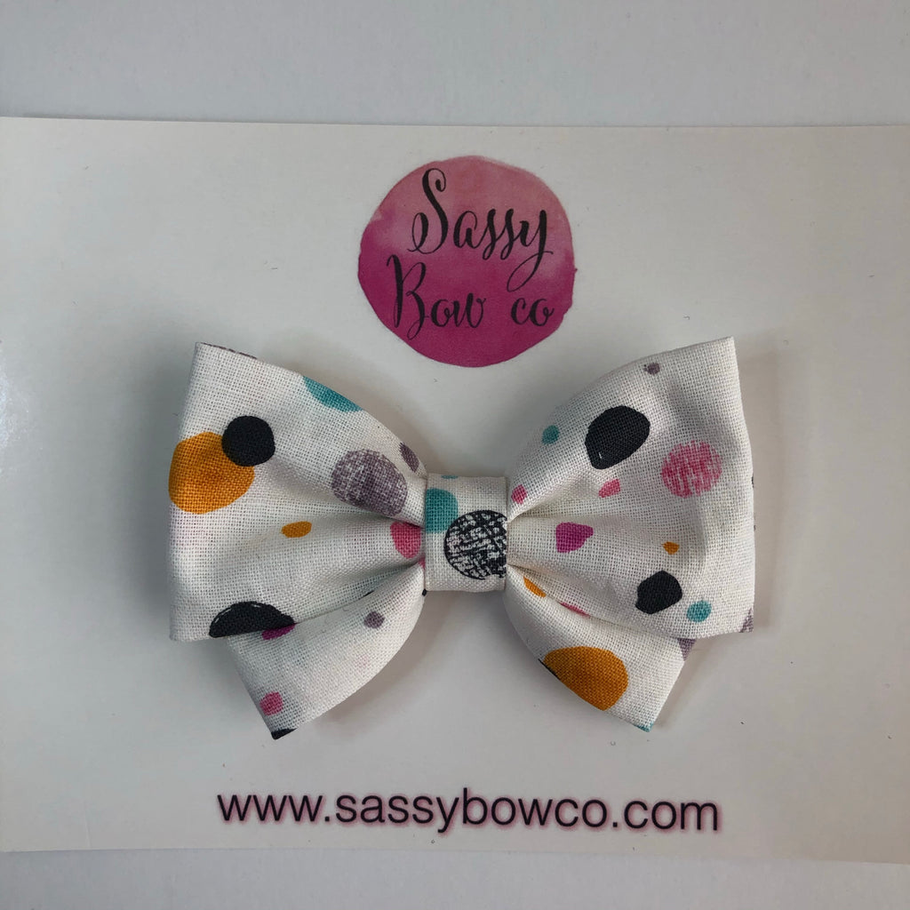 Fall Dottie Madi Cotton Bow