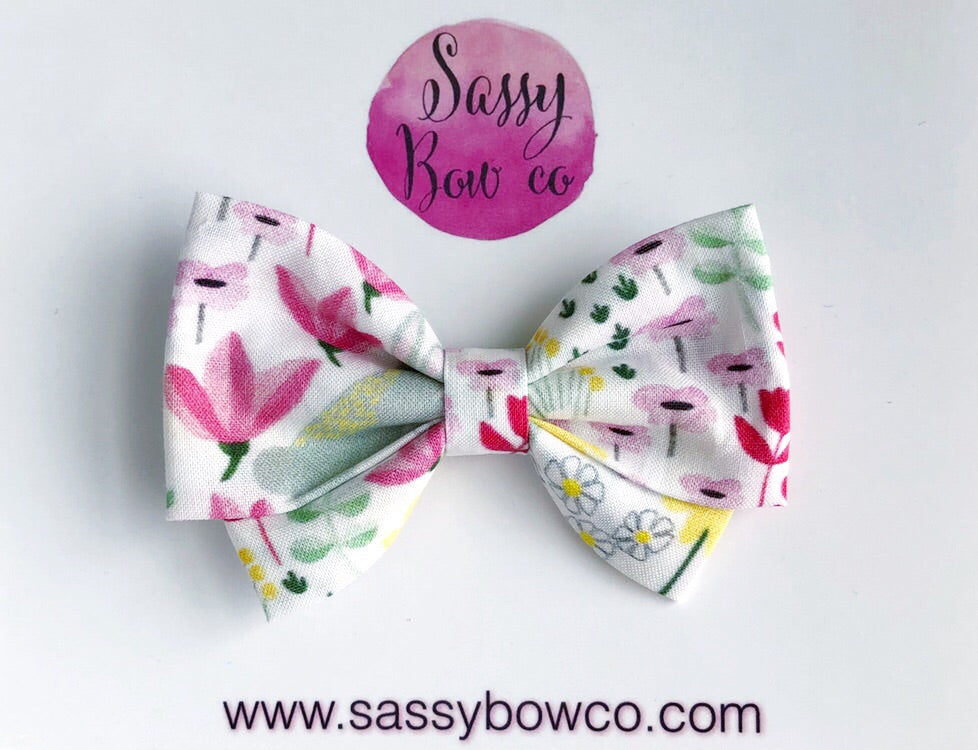 Bunny Frolic Madi Cotton Bow