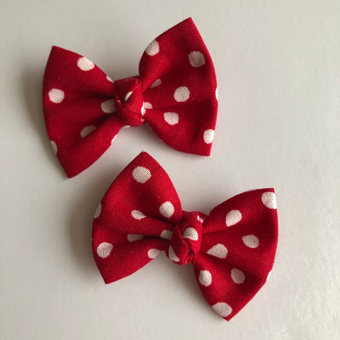 "Mickey Red Dot 2"" pigtail set"