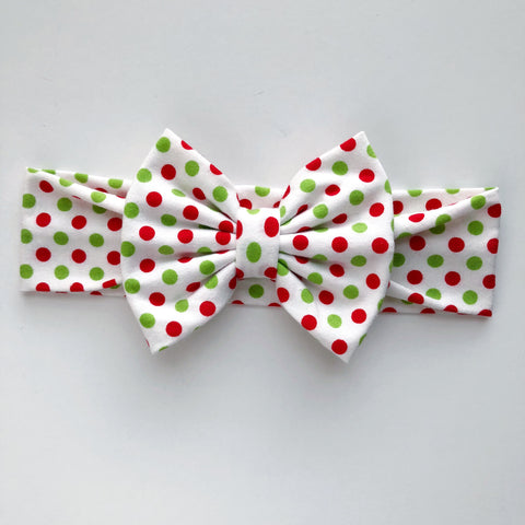Holiday Dot Headbands