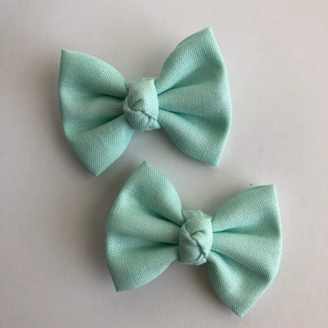 "Mint 2"" pigtail set"