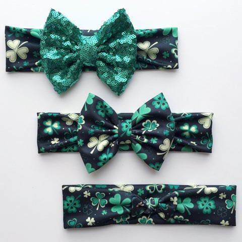Lucky Clover Headbands