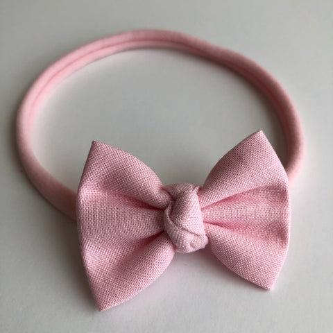 "Baby Pink 2"" Chloe bow"