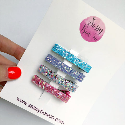 Magical Glitter Clip Set