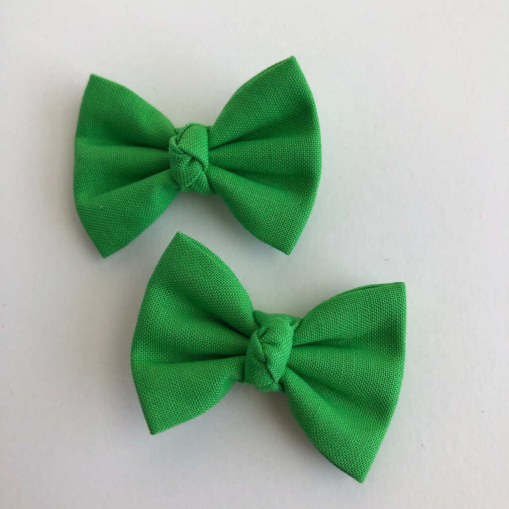 "Green 2"" pigtail set"