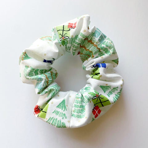 Christmas Gifts Cotton Scrunchie