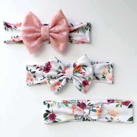 Autumn Floral Headbands