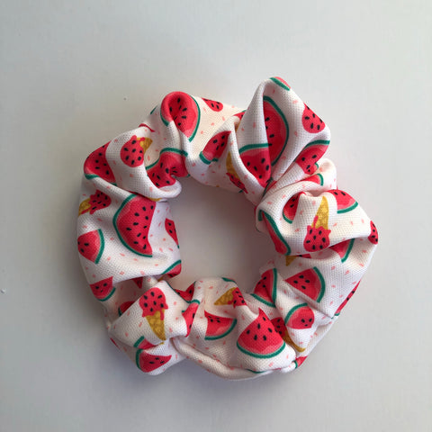Watermelon Ice cream Scrunchie