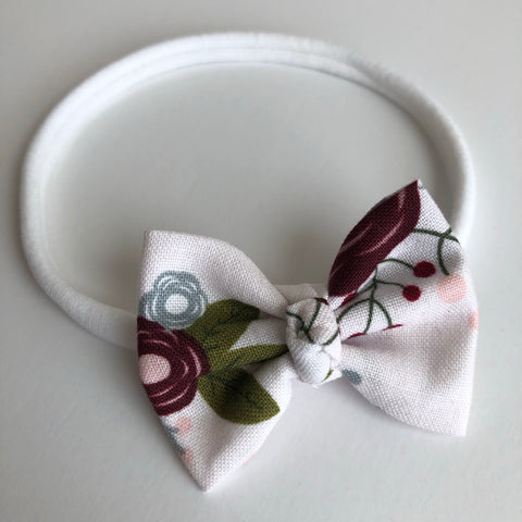 "Fall Floral 2"" Chloe bow"