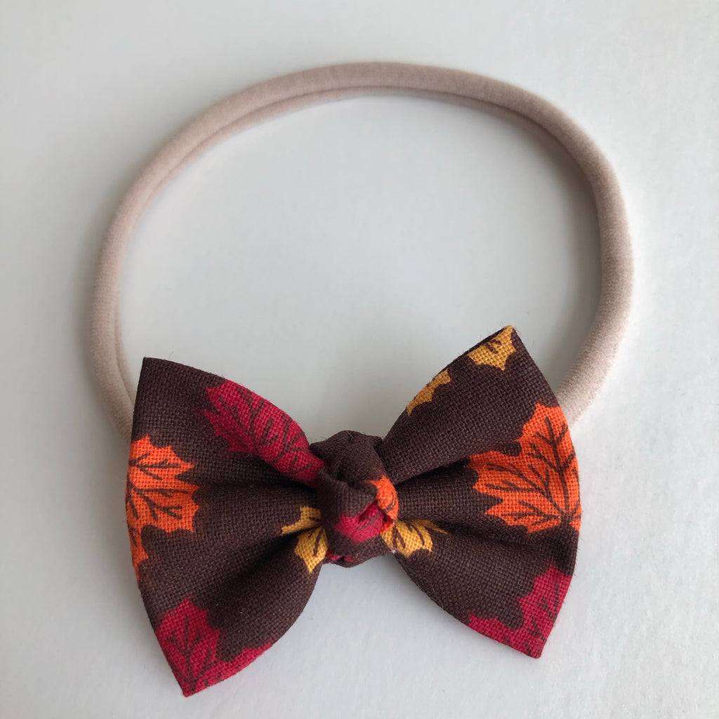"Autumn Leaves 2"" Chloe bow"