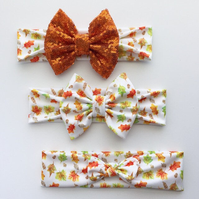 Fall Leaves Headbands