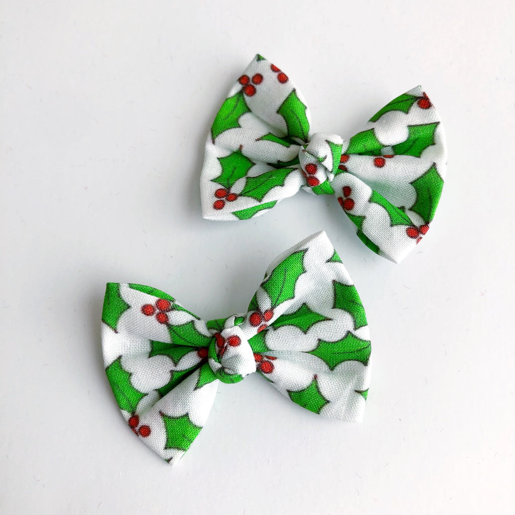 "Mistletoe 2"" pigtail set"