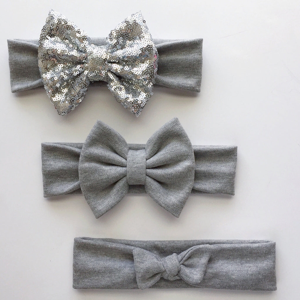 Gray Headbands