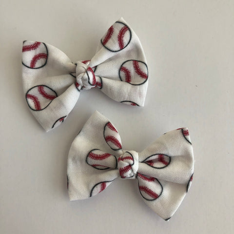 "Baseball 2"" pigtail set"
