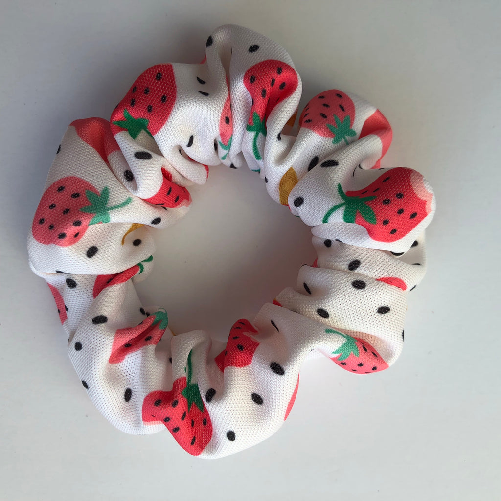 Strawberry Ice cream Scrunchie