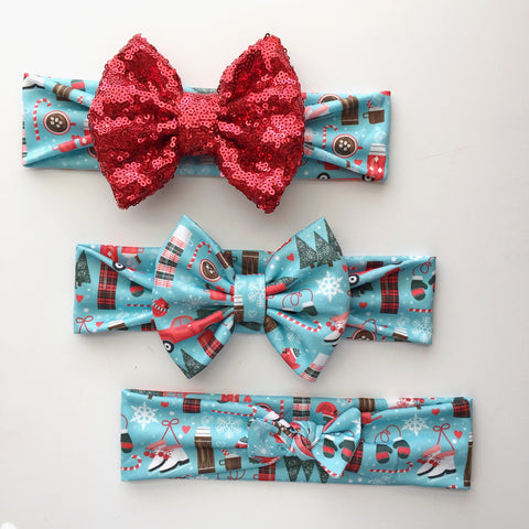 Holiday Festivites Headbands