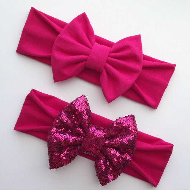 Hot Pink Headbands