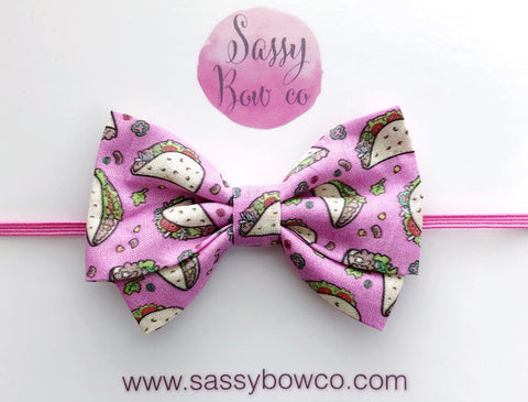 Taco Madi Cotton Bow