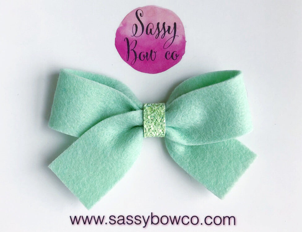 Mint Green Anniston Bow
