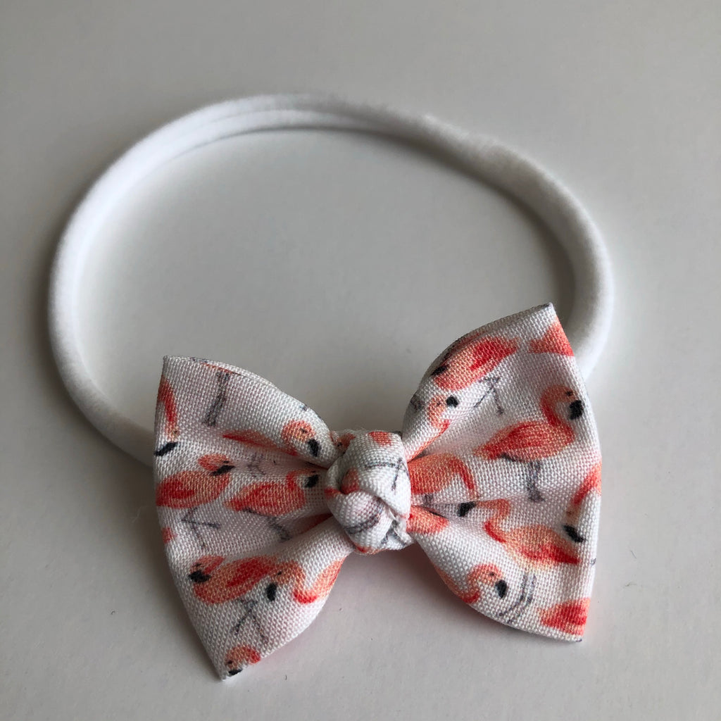 "Flamingo 2"" Chloe bow"