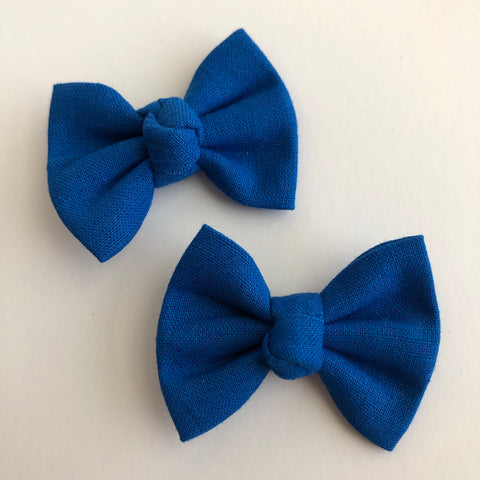 "Royal Blue 2"" pigtail set"