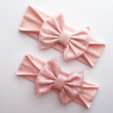 Peach Headbands