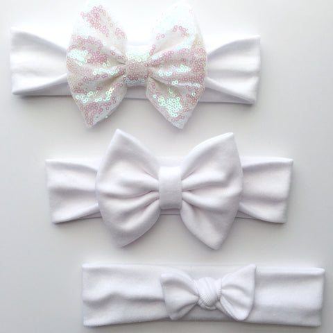 White Headbands
