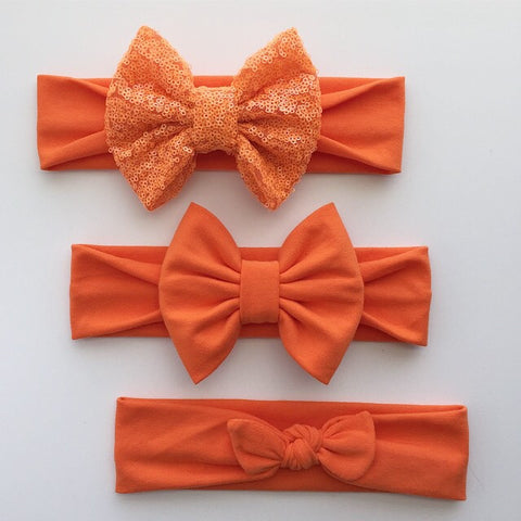 Bright Orange Headbands