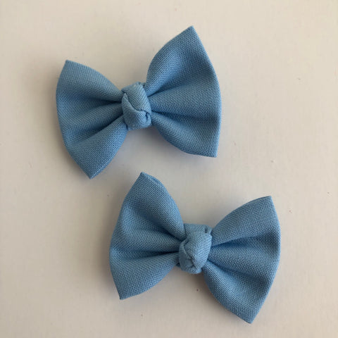 "Baby Blue 2"" pigtail set"