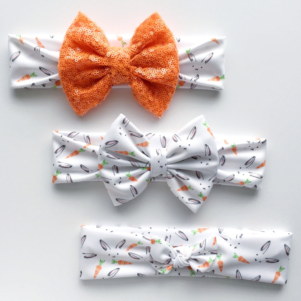 Hungry Bunny Headbands
