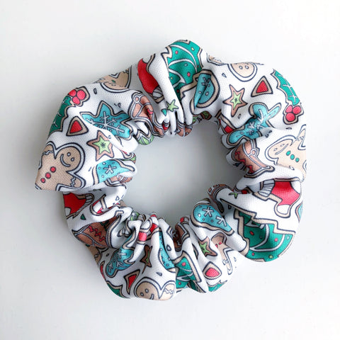 Christmas Cookie Scrunchie