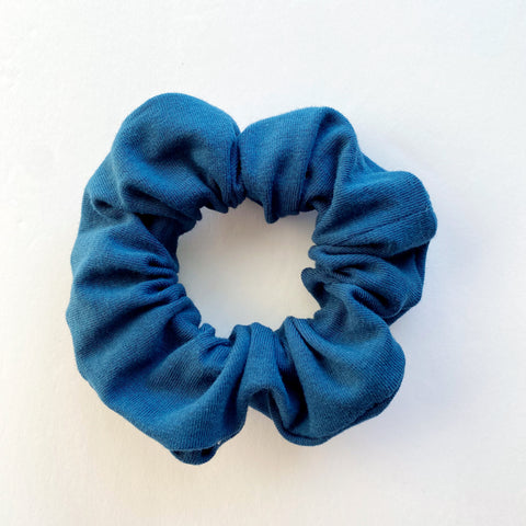 Peacock Blue Scrunchie