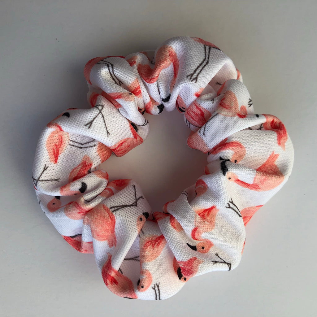 Flamingo Scrunchie