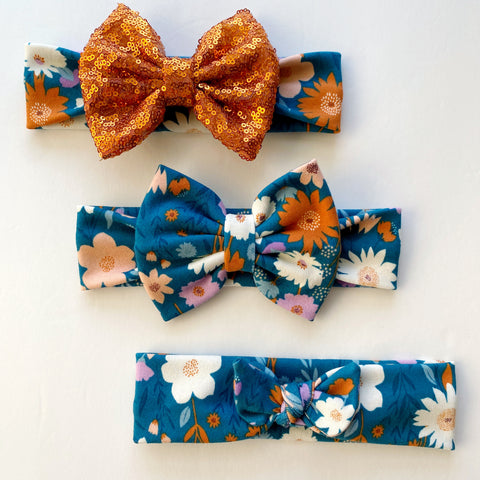 Fall Floral Headbands
