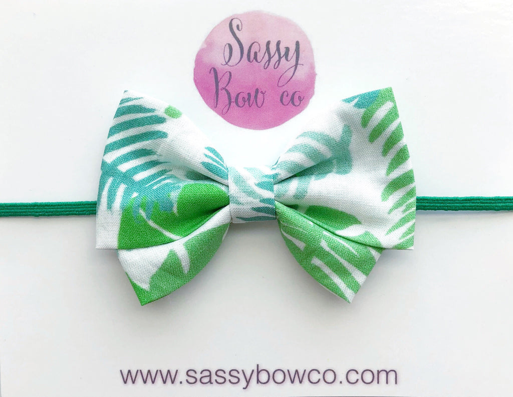Palms Madi Cotton Bow