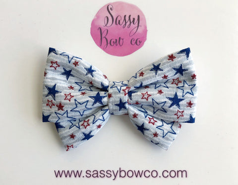 Starry Night Madi Cotton Bow