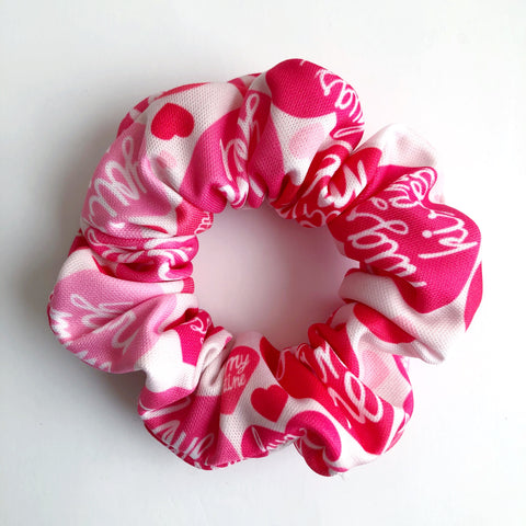Hugs & Kisses Scrunchie