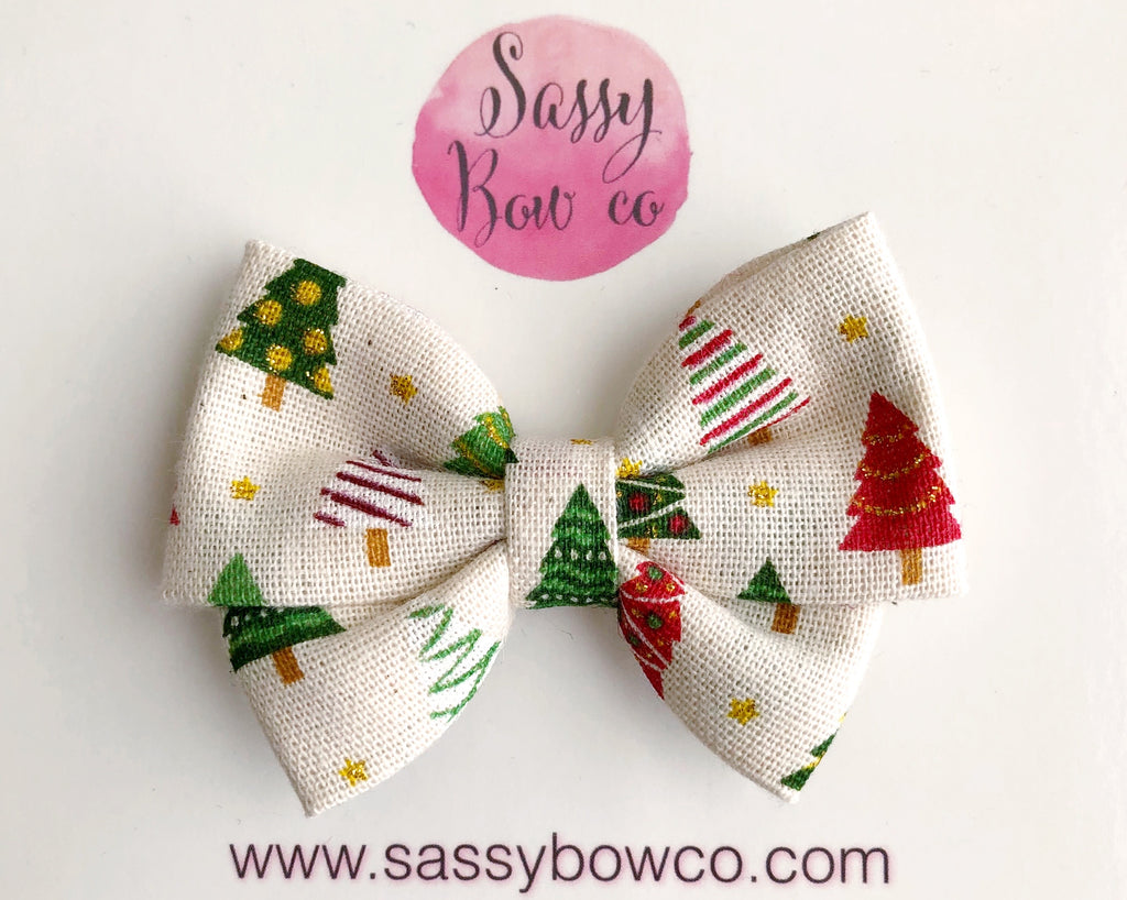 Farmhouse Christmas Madi Cotton Bow