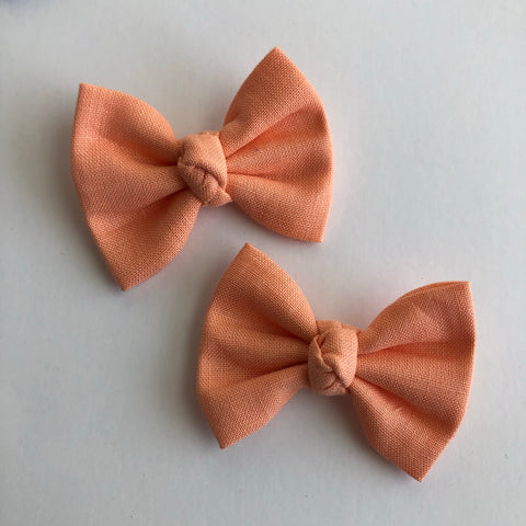 "Peach 2"" pigtail set"