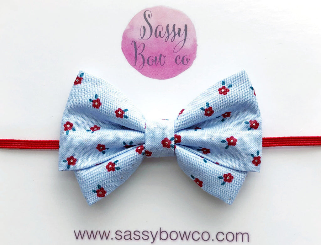 American Floral Madi Cotton Bow