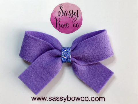 Lavender Anniston Bow