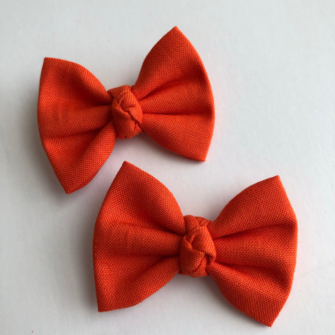 "Classic Orange 2"" pigtail set"